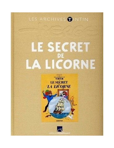 Les archives Tintin: Le secret de la Licorne