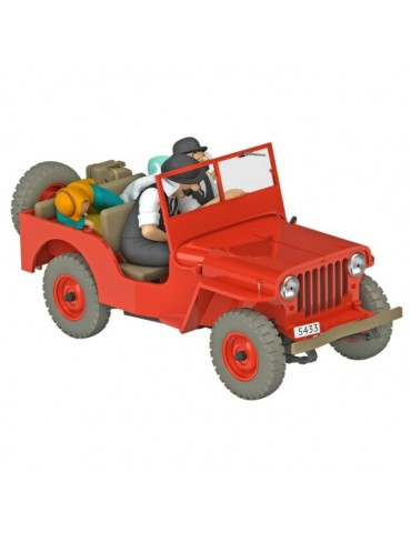 "Coche ""Jeep Willy rojo"""